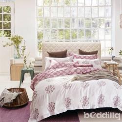 BEDDING-40支100%天絲6尺加大雙人七件式兩用被床罩組-繁星點點-TENCEL