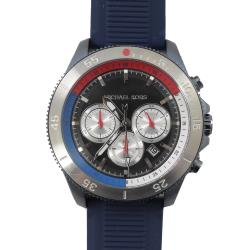 MICHAEL KORS MK8708 Cortlandt 計時型石英手錶.海軍藍