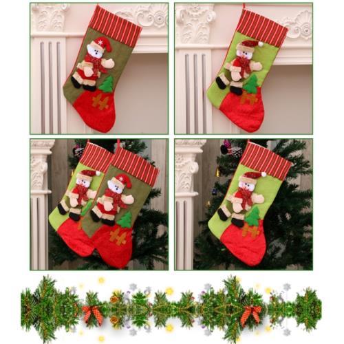 43cm立體玩偶大聖誕襪