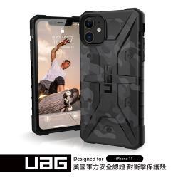 UAG iPhone 11 耐衝擊保護殼-迷彩黑