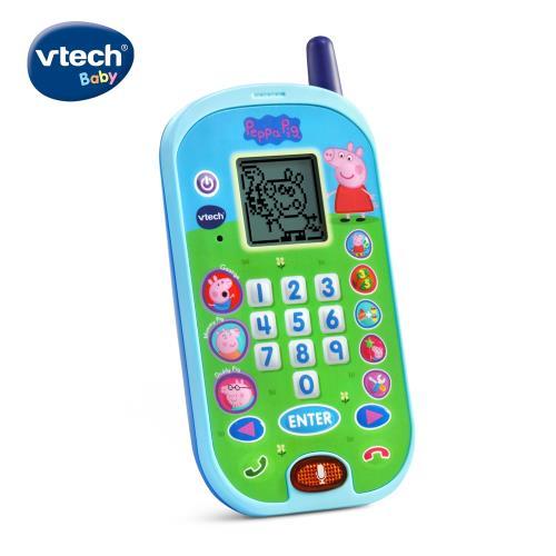 【Vtech】粉紅豬小妹-智慧學習互動小手機/