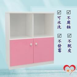 轉角傢俱-塑鋼置物櫃 防潮防水防發霉 (寬83深43高92)五色可選