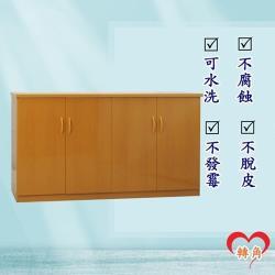 轉角傢俱-塑鋼碗盤櫃 防潮防水防發霉 (寬164深43高81)四色可選