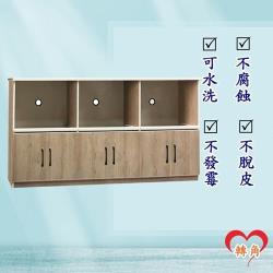 轉角傢俱-塑鋼電器櫃 防潮防水防發霉 (寬190深43高100)二色可選
