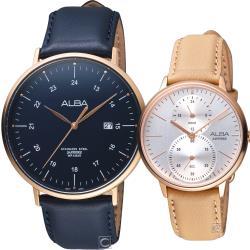 ALBA 雅柏 愛在蔓延時尚對錶 (AS9H48X1+A3A020X1)