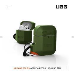 UAG AirPods 耐衝擊防水防塵保護殼-綠