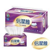 倍潔雅 特級3層厚柔抽取式衛生紙110抽x10包x6袋