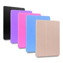 【蠶絲紋】輕薄款10.2吋iPad平板保護皮套(適用10.2吋 iPad 2019第七代)