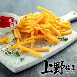 【上野物產】美式金黃酥脆薯條 (500g±10%/包) x5