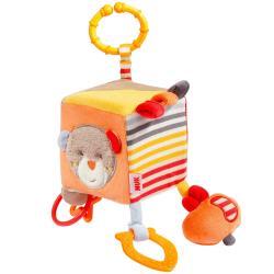 德國NUK絨毛玩具-小熊方塊玩偶