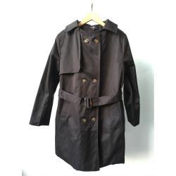 CLARE經典英倫風名品風衣外套