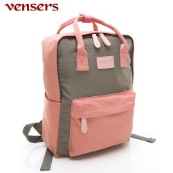 vensers 都會風後背包 RB0890402粉紅灰