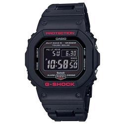 【CASIO】G-SHOCK 5600經典黑紅個性太陽能電波藍芽錶(GW-B5600HR-1)