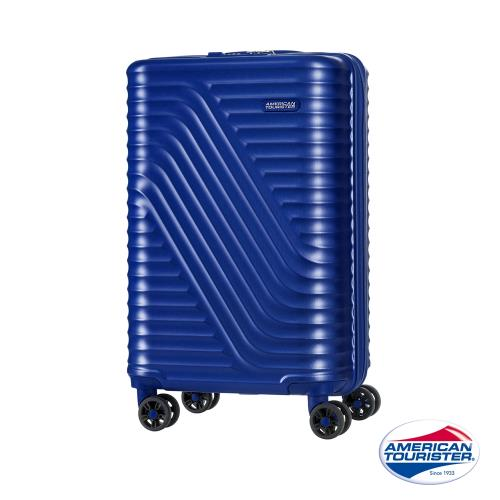 AT美國旅行者20吋High Rock流線硬殼TSA登機箱(電光藍)-DM1*41001