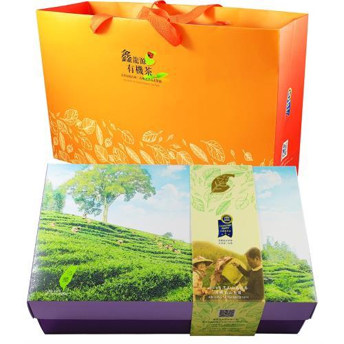 【龍源茶品】自然純淨頂級台灣茶山禮盒組(任選200g~300g/附提袋)/