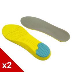 ○糊塗鞋匠○ 優質鞋材 C51 記憶棉運動鞋墊 (2雙/組)