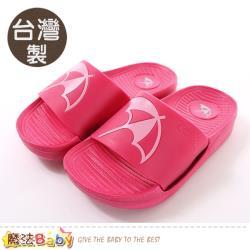 魔法Baby 女鞋 台灣製阿諾帕瑪授權正版運動風拖鞋~sk0913