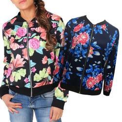 K.W.韓國 (現貨)歐美時尚印花造型修身外套