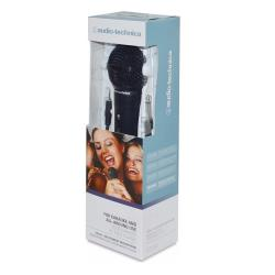 日本鐵三角Audio-Technica入門版手持式麥克風ATR1100動圈式麥克風(心形指向性;線長3公尺)mic適人聲樂器-美國平行輸入