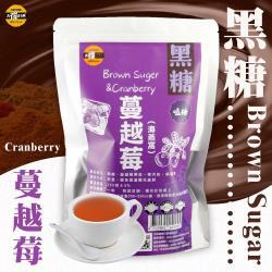 【太禓食品-嗑糖】脈輪黑糖茶磚 黑糖蔓越莓海燕窩(350g/包)