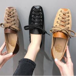 【Alice】(現貨+預購)好評加碼熱賣款綁帶平底鞋