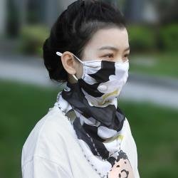 E.City_時尚百搭透氣防曬絲巾口罩