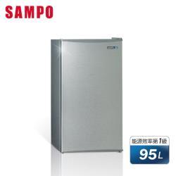 聲寶SAMPO95公升一級能效獨享系列單門小冰箱SR-B10