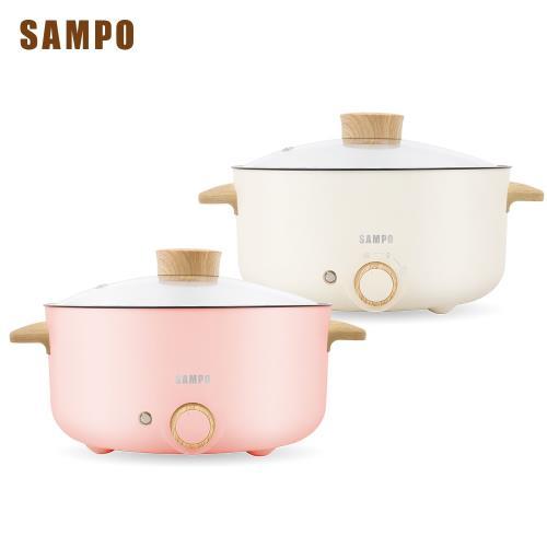 SAMPO聲寶 日式多功能料理鍋電火鍋湯鍋不沾塗層三公升 TQ-B19301CL-庫