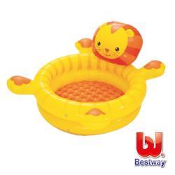 哈街 Bestway。快樂獅造型遊戲池(附50顆球) 52261