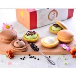 【久久津】雪鶴綜合蛋糕2盒組( 綜合6入 /盒 / 一顆50克)