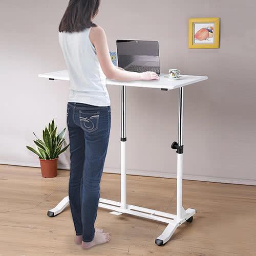 C&B氣壓升降式便利站立桌/
