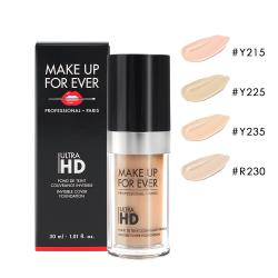 MAKE UP FOR EVER ULTRA HD 超進化無瑕粉底液30ml (多色可選)