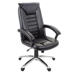GXG 高背皮面 電腦椅 (鋁合金腳座/防刮輪) TW-1032 LU
