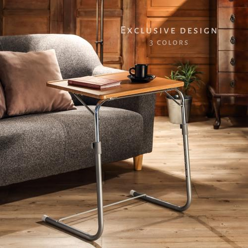 【TKY】獨家設計日式調整桌/調整式筆電桌/成長桌/茶几桌/邊桌(高低角度調整/增加腳墊)
