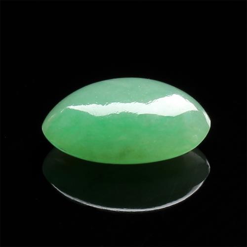 【雅紅珠寶】天然綠翡翠玉蛋面-瓊姿花貌/