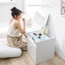 【TKY】和室化妝桌/茶几桌/多功能/寬98CM/化妝台/和室桌/房間/客廳(台灣製造)
