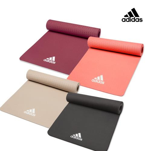 Adidas輕量波紋瑜珈墊8mm-ADYG-10100/