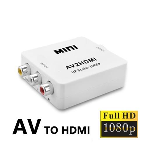AV訊號轉HDMI轉接盒-1080P版(FW-9000)/
