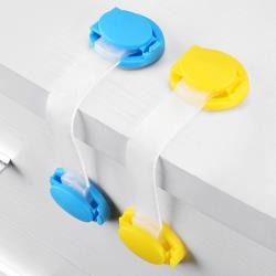 10入-安全鎖抽屜鎖軟鎖(長)