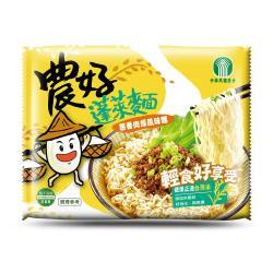 【全國農會】農好蓬萊麵-蔥香肉燥風味(15包入*2箱)