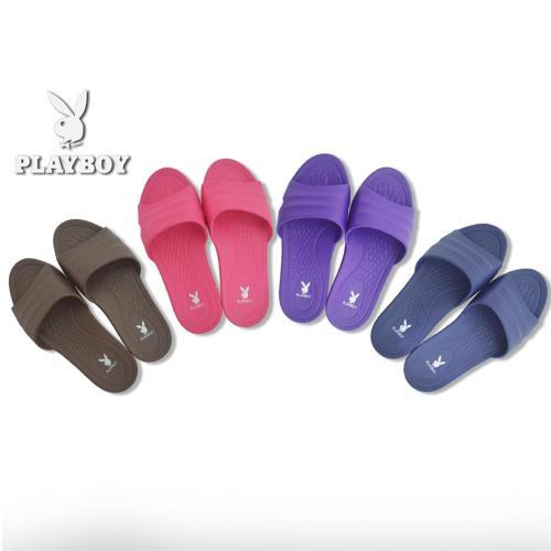 任-【Play Boy】防滑乾溼二用室內拖鞋