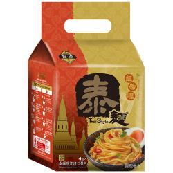 【稑珍】泰麵-紅咖哩 乾/湯 拌麵(150公克x4包)