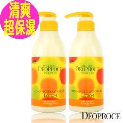 韓國 【Deoproce】超保濕滋養護膚乳500mlX2件 (超保濕身體乳)