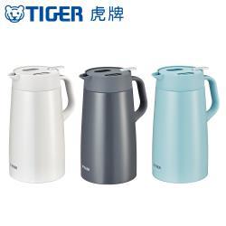 TIGER虎牌 1.6L時尚輕巧大容量桌上型保溫壺不鏽鋼保溫瓶(PWO-A160)