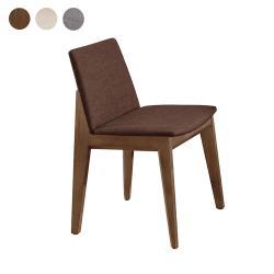 Boden-伊薇特布面實木餐椅/單椅(三色可選)