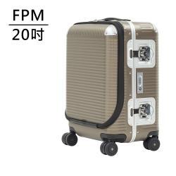 FPM MILANO BANK LIGHT Almond系列 20吋商務登機箱(摩登金) 平輸品