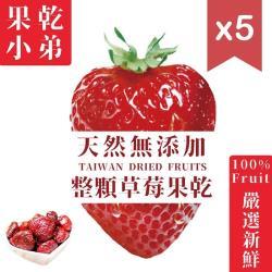 【果乾小弟】整顆草莓乾5包