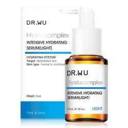 DR.WU  玻尿酸保濕精華液(清爽型) 15ML
