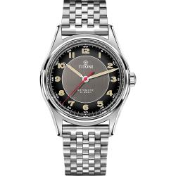 TITONI 梅花錶 傳承系列百周年紀念腕錶-39mm 83019 S-638
