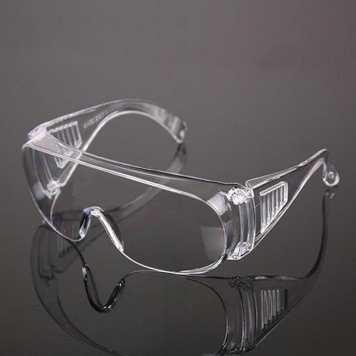 時尚美觀防風防飛沫護目鏡(2入)可內搭眼鏡/